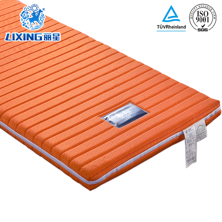 Comfortable Cooling Ultralight Sleeping Well Thin Mattress Pad For Adults