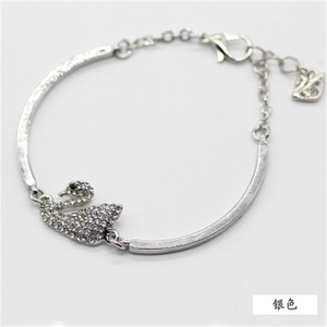 2019 Hotsale swan originality bracelet creative noble bangles for women