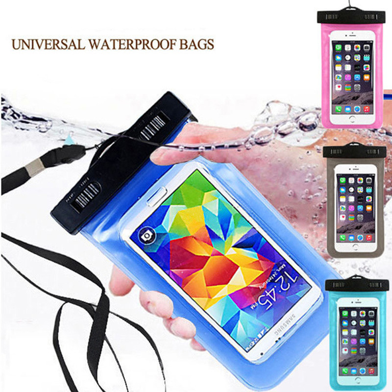 Sportly Waterproof Cell Phone Carrying Cases Mobile Phone Pouch with Screen Touch and Camera Compatible