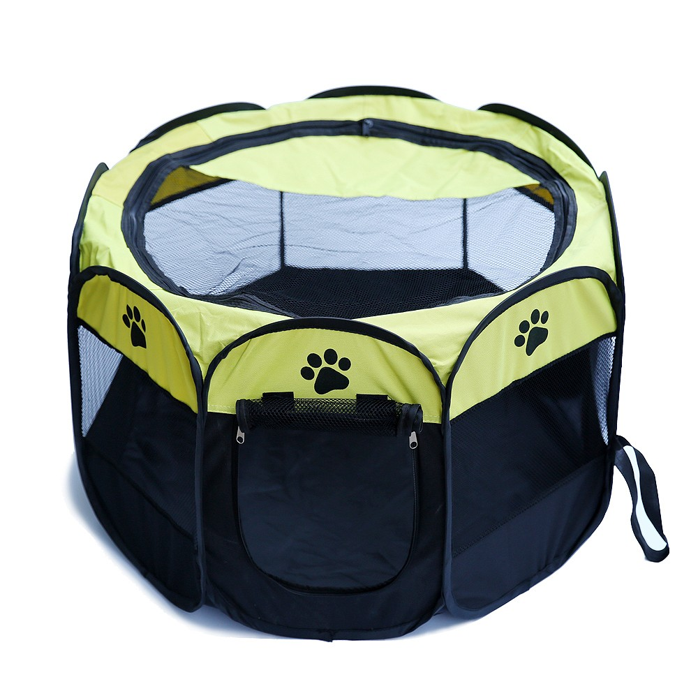 ... Portable Folding Pet Tent Play Pen u003cfontu003eu003cbu003eDogu003c/b ...  sc 1 st  P&er My Dog & Portable Folding Pet Tent Play Pen Dog Sleeping Fence Puppy Kennel ...