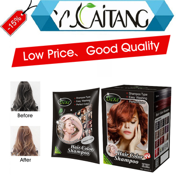 Quick 5 Minutes Hair Darkening Shampoo For Gray Hair Herbal Dark Brown Dye  Best Home Hair Color - Buy Hair Color Wax,No Ammonia No Peroxide Hair ...