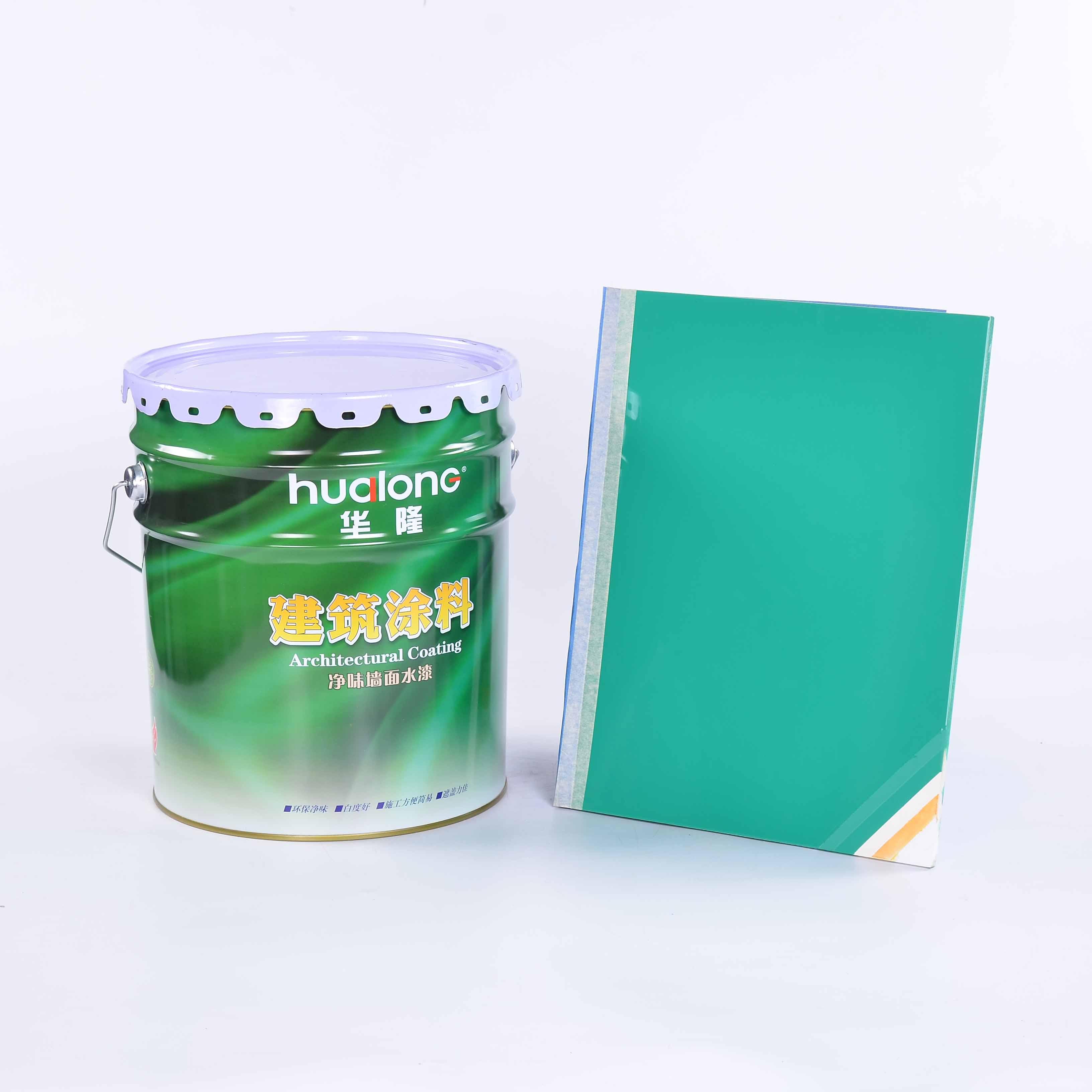 Hualong Waterproof Floor Acrylic Coating Anti Yellow Mildew Proof Paint