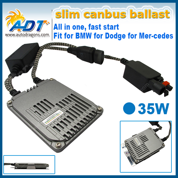 Warranty 24months 35W hid adjustable xenon ballast 0.1second lighting up xenon hid fast start ballast