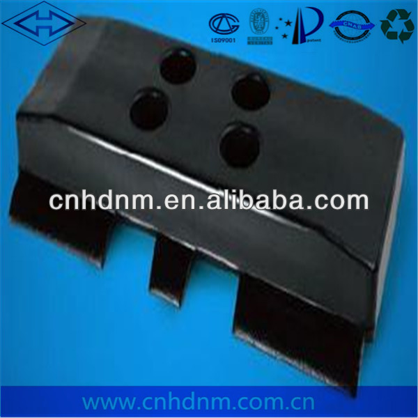 construction machinery parts track pad