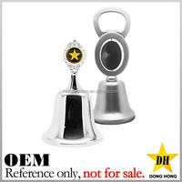 high quality custom logo souvenir dinner antique brass metal hand bell