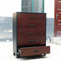 Luoyang steelite KD sturcture metal transfer furniture wooden antique file cabinets Henan factory