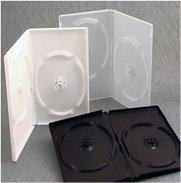 Premium quality single or dual DVD box/case