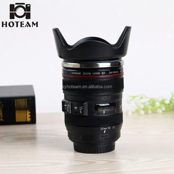 055799dd5c 24-105mm 4th Generación de acero inoxidable lente de cámara taza de café  lente de