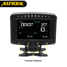 AUTOOL X50 PRO OBD 2 HUD Head Up Display Digitale <span class=keywords><strong>Auto</strong></span> Computer <span class=keywords><strong>di</strong></span> <span class=keywords><strong>bordo</strong></span> ECU Pellicola Calibro Misuratore <span class=keywords><strong>di</strong></span> Velocità Elettronico Monitor strumento <span class=keywords><strong>di</strong></span> diagnosi
