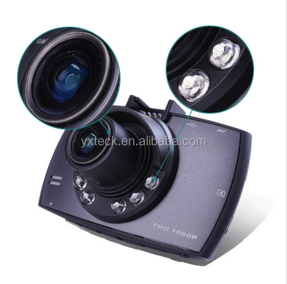 2017 new Dual Camera 2.7 LED 1080p Dashboard Car Camera Vehicle DVR