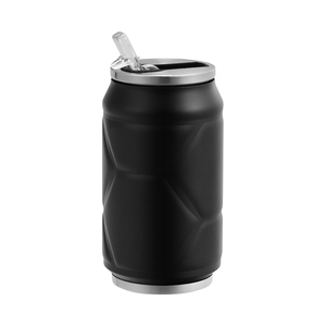 Leak-proof Double Walled Stainless Steel Cola Shape Sports Water Bottle can