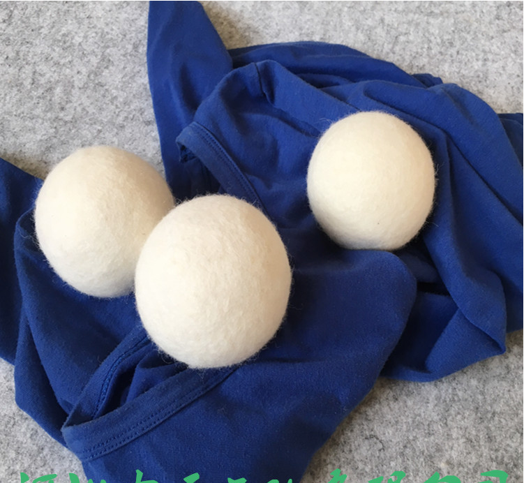 6 pack customized organic smart lamb wool dryer balls New zealand/OEM new premium wool balls for laundry dryer