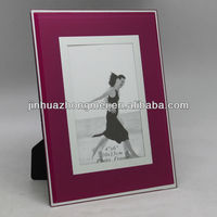 high quality printing photo frame arts and crafts/mirror photo frame/glass photo frame