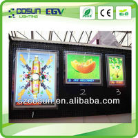 china double sided ultra slim wall mounted crystal lighting boxes
