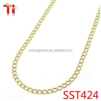 jewelry18K Gold Color Fake gold chains Mens imitation gold Necklace