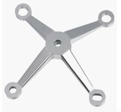 Stainless Steel Four-arms Glass Spider Fitting