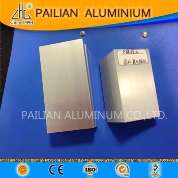 China Golden Alu Profile Supplier Natural Anodized Aluminum ...