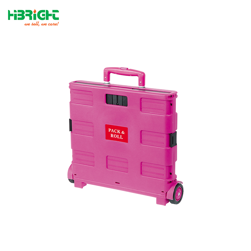 Folding Boot shopping Cart /Trolley/ Crate Shopping Trolley on Wheels (25KG CAPACITY)