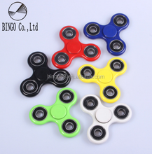 2017 hot ceramic bearing fidget finger gyroscope hand gyro tri spinner