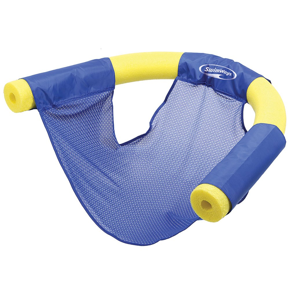 Get Quotations · (Set/2) Swimways Floating Pool Noodle Sling Mesh Chairs    Water Relaxation