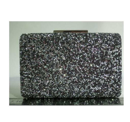 handmade metal clutch ladies gold or silver evening handbags clutches tote bags stone beaded party online
