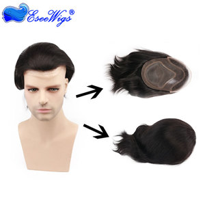 Natural Hairline Mens Toupee, Natural Hairline