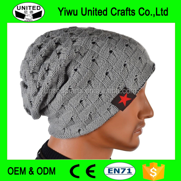 2016 band beanies winter men knitted hat reversible beanie for new women unisex baggy warm ski skullies skull cap