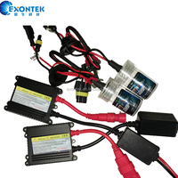 China factory wholesale Hot low price Xenon HID kits with 12V 35W DC Slim ballast H1 H3 H7 H8 H11 9005 9006 880 mono xenon lamp