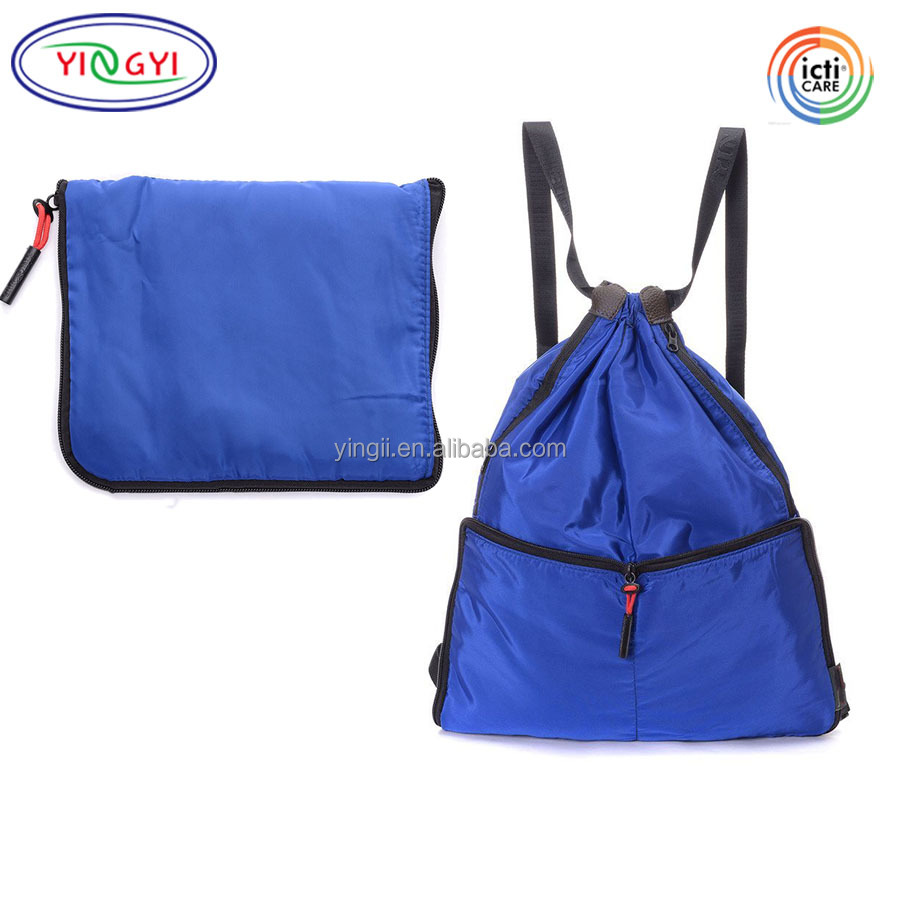 Drawstring Type 210d Polyester Sports Bags For Kids Boys Girls Waterproof School Bag Travel Bag Backpack Gym Swim Dance Hot Sale Exquisite Workmanship In