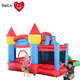 New Design Red bouncer house Bouncy castle and inflatable outdoor combo bouncer with slide for sale