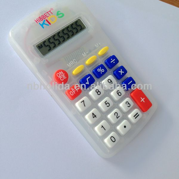 8 digits pocketable calculator, electronic transparent calculator/ HLD809