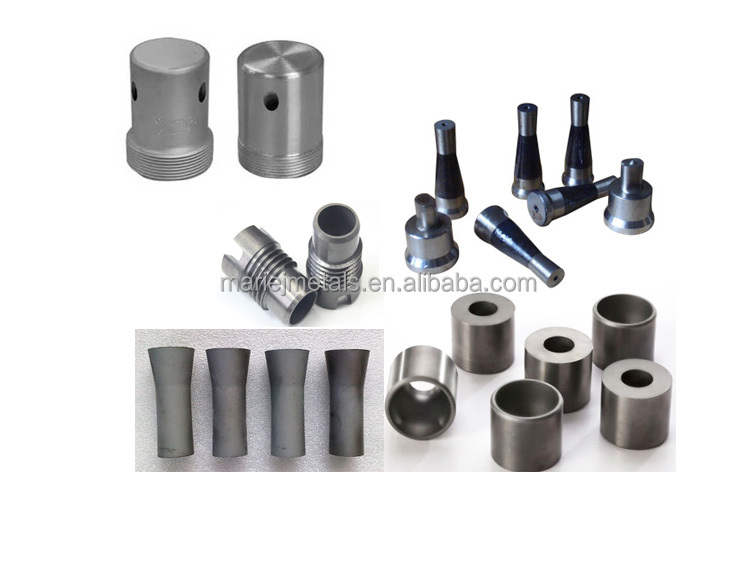 Tungsten alloy gecementeerde zandstralen carbide nozzles/injectie spuit/mist spray