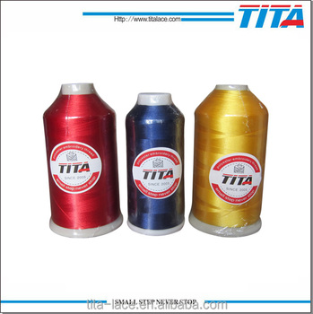 120d 100 Polyester Embroidery Thread For Feiya Machine Best Price