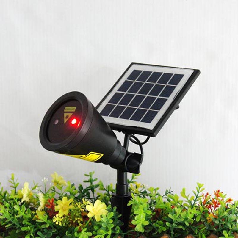 Solar Light LED Bulb Solar Power Panel Laser Light ...