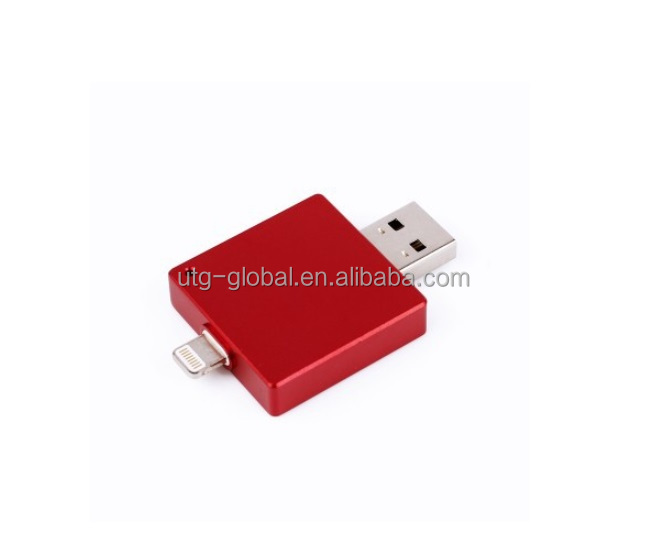 8G 16G 32G 64G 128G External Storage Flash Drive with Fingerprint & Password & Gesture Security For iPhone iPad iPod