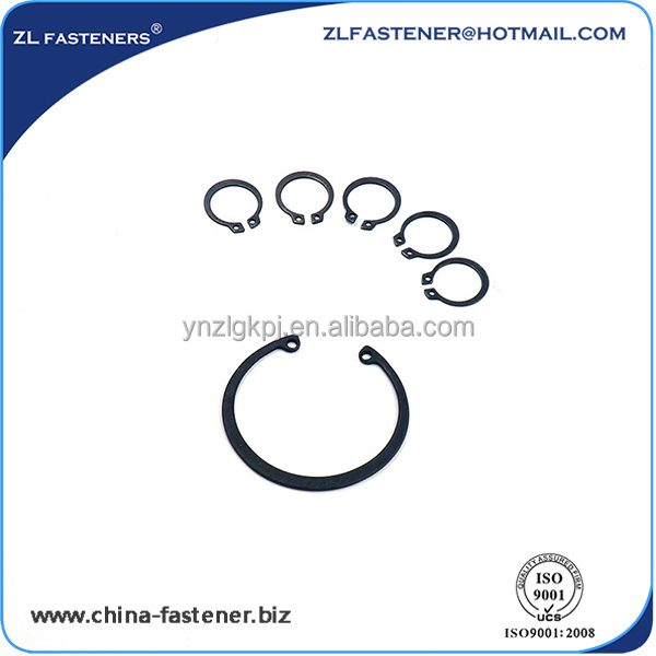 for shaft carbon steel Elastic Circlip customized