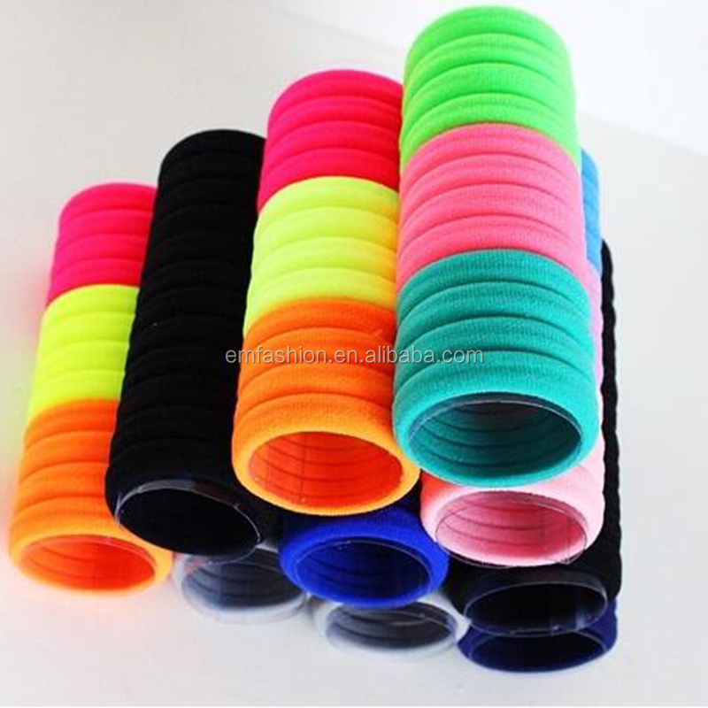 Wholesale Sports Cheap Towel Elastic Nylon Hair Bands For Women And Girls