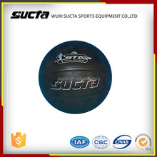 Cheap promotional standard size basketball with logo printing