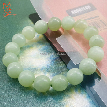 Natural stone bracelet new jade round beads bracelet jewelry