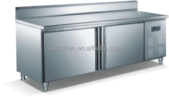 Restaurant Kitchen Fridge restaurant stainless steel deep freezer/ hotel kitchen workbench