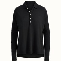 Most popular antique women's polo shirts fitted high quality classical polo shirt design for women
