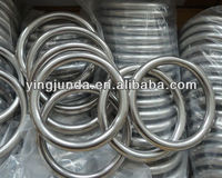 carbon steel 16mm stainless steel 304 welded round ring Supplier