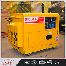 Manufacturer directly supply generac diesel generator 5kw manufacturer in China