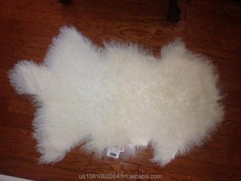Genuine Mongolian Tibetan Lambskin Fur Wool Rug Animal Shape Pelt Lamb Product On Alibaba Com