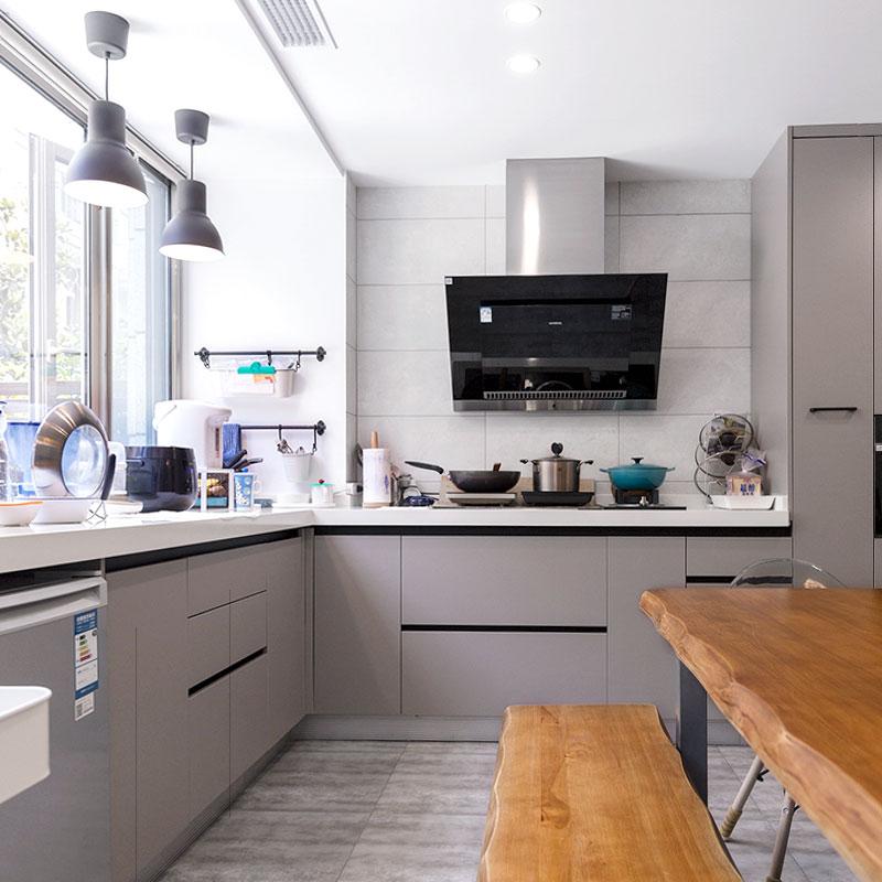 Neueste Holz Schrank Moderne Italien Küche Design