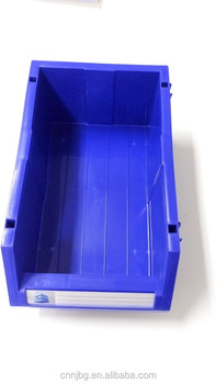 warehouse stackable storage bins for spare parts screws auto parts 600x400mm