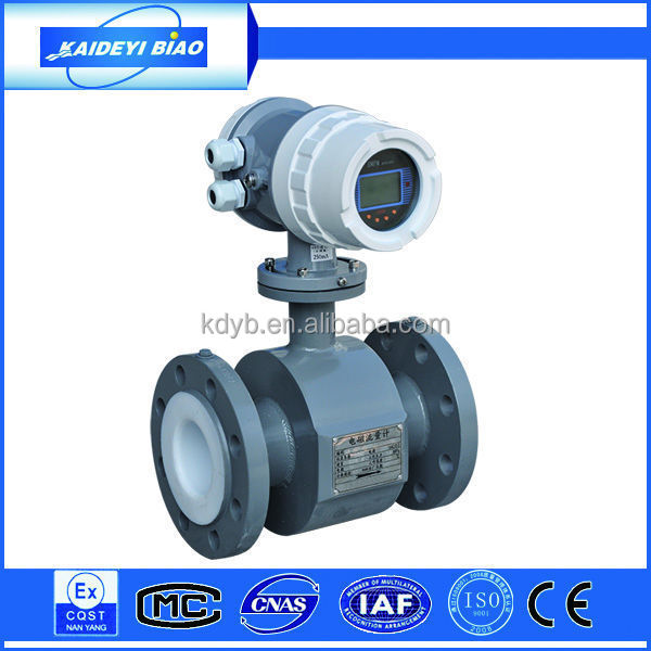 digital electromagnetic flow meter made in China