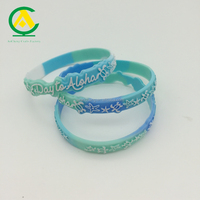 Rubber Wristband 3D logo Bracelet silicone Band Baller mixed color wrist band