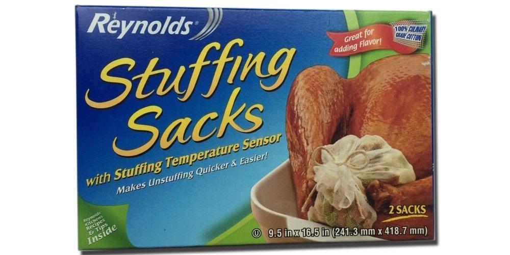 Reynolds Turkey Stuffing Bag Multi Purpose Cooking 2 Sacks Bo