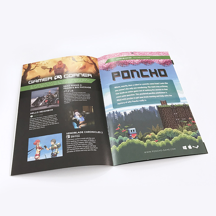 High quality brochure printer fancy travel brochure design
